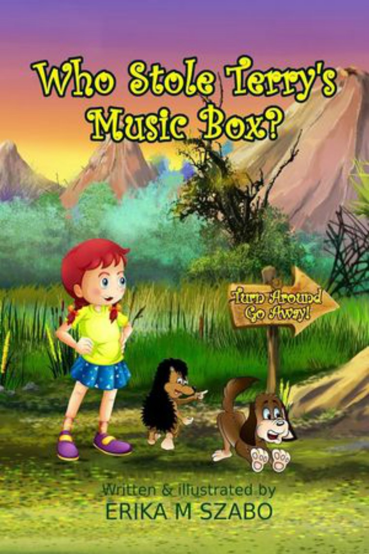 Golden Box Book Publishing Who Stole Terry's Music Box