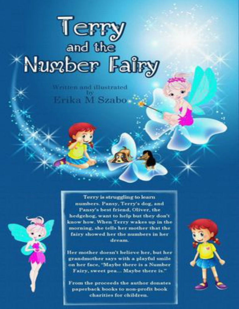 Golden Box Book Publishing Terry and the Number Fairy