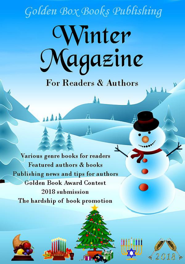 Golden Box Book Publishing Winter Magazine for Readers and Authors