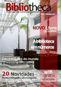 Bibliotheca - Revista online da Biblioteca da Faculdade de Direito de Lisboa Setembro 2013