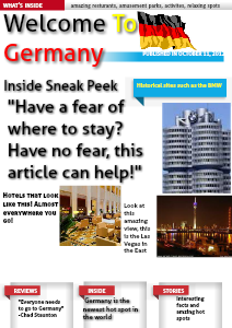 Welcome to Germany October 2013