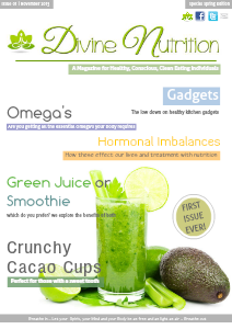 Divine Nutrition SA Issue 01 November 2013