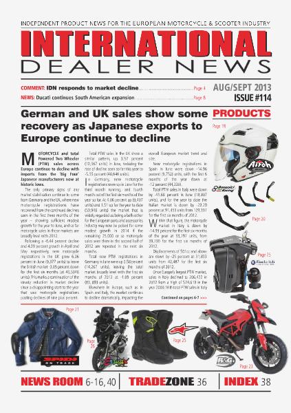 International Dealer News IDN 114 Aug/Sept 2013