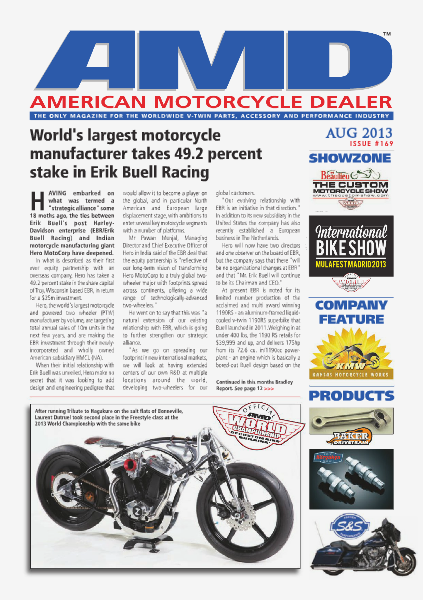 American Motorcycle Dealer AMD 169 August 2013