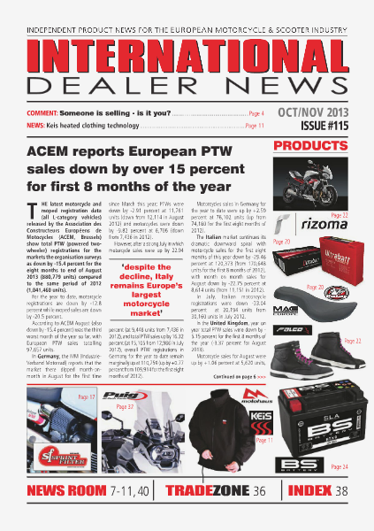 International Dealer News IDN 115 Oct/Nov 2013