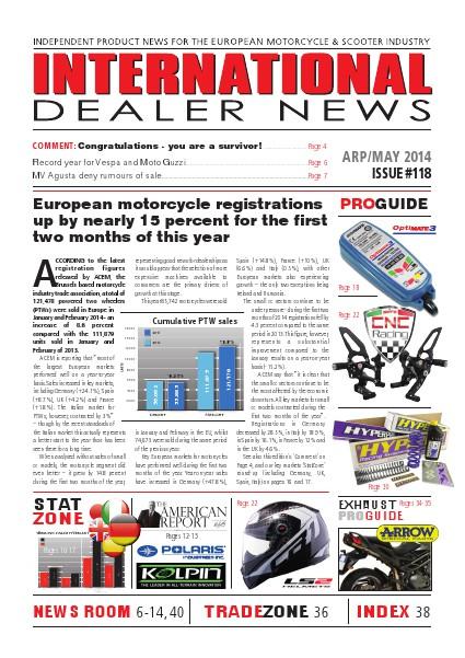 International Dealer News IDN 118 Apr/May 2014
