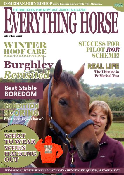 Everything Horse magazine Everything Horse magazine, October 2015