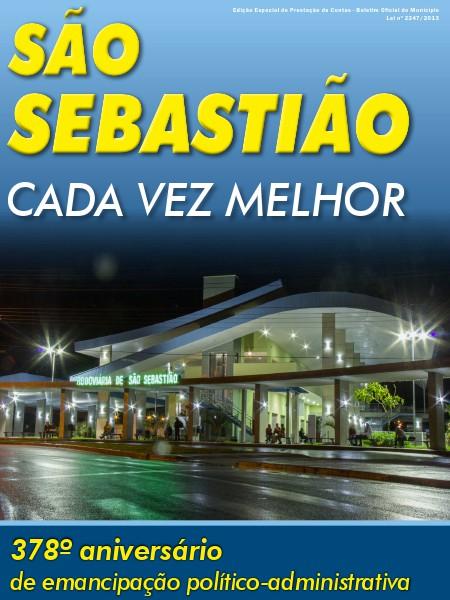 São Sebastião - Cada Vez Melhor 21/07/2014