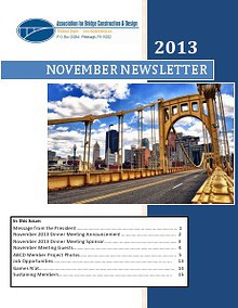 ABCD Pittsburgh Chapter Newsletter