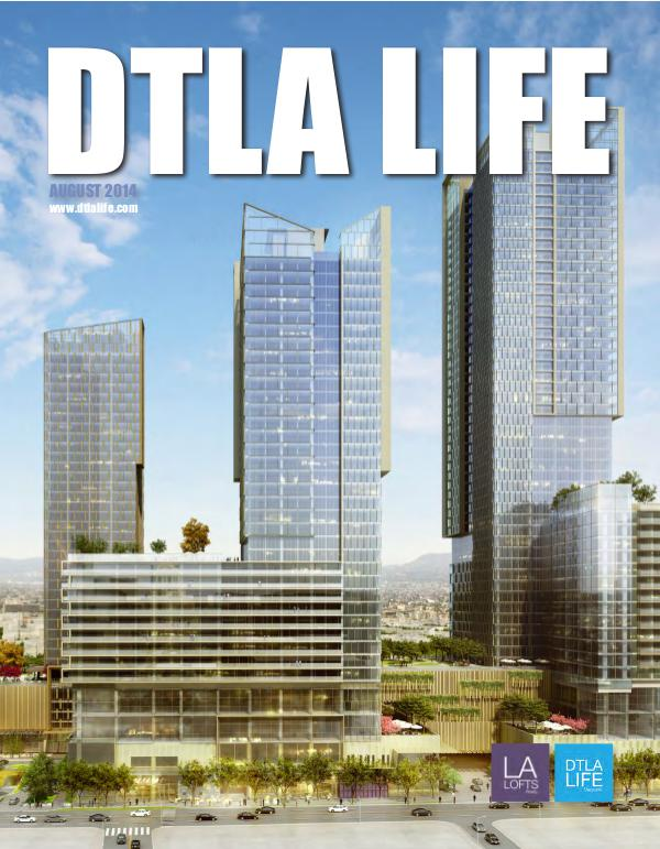 DTLA LIFE MAG #8 | AUGUST 2014