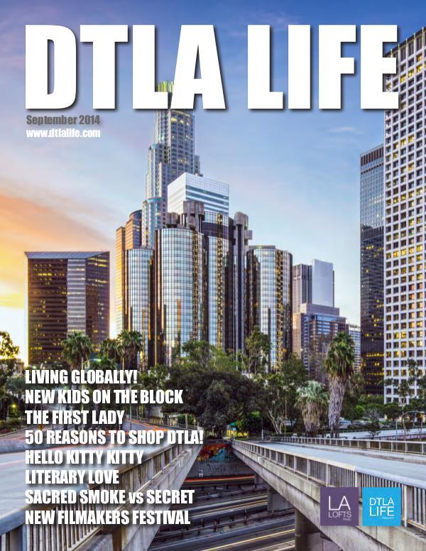 DTLA LIFE MAG #9 | SEPTEMBER 2014