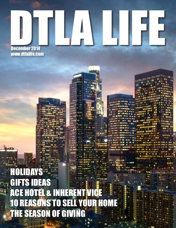 DTLA LIFE MAG #12 | DECEMBER 2014
