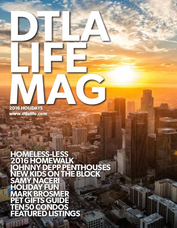 DTLA LIFE MAG #30 | HOLIDAYS 2016