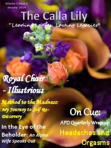 The Calla Lily Volume 1 Issue 2 January 2014