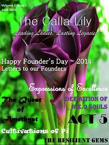 The Calla Lily: An Alpha Pi Delta Sorority, Inc Publication