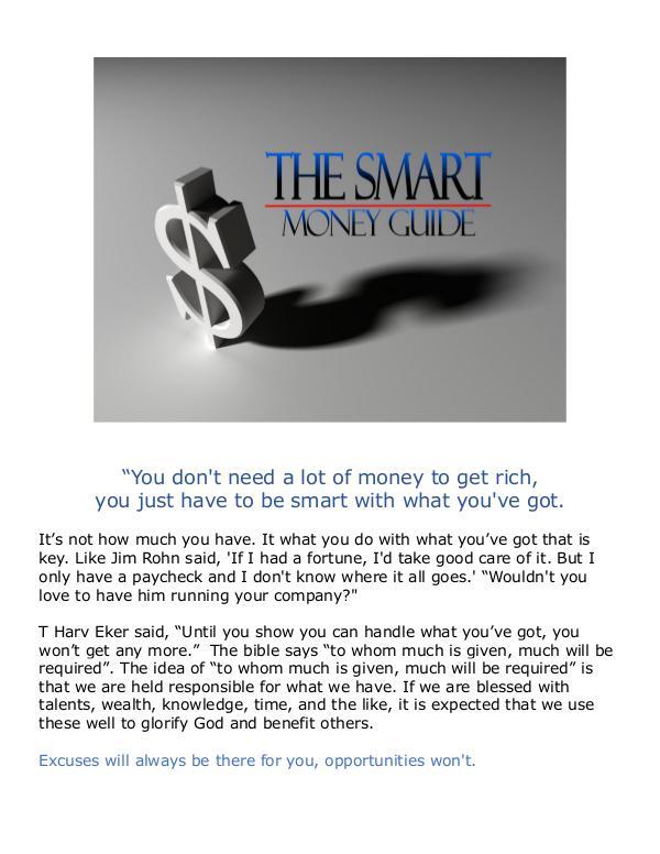 The Smart Money Guide v1