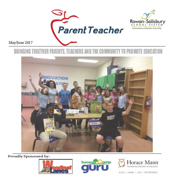 Parent Teacher Magazine Rowan-Salisbury Schools May/June 2017
