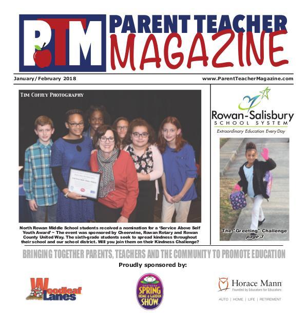 Parent Teacher Magazine Rowan-Salisbury Schools Jan/Feb 2018