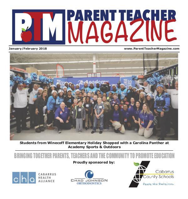 Parent Teacher Magazine Cabarrus County Schools Jan/Feb 2018