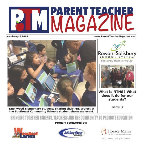 Rowan-Salisbury Schools March/April 2018