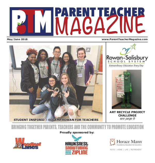 Parent Teacher Magazine Rowan-Salisbury Schools May/June 2018