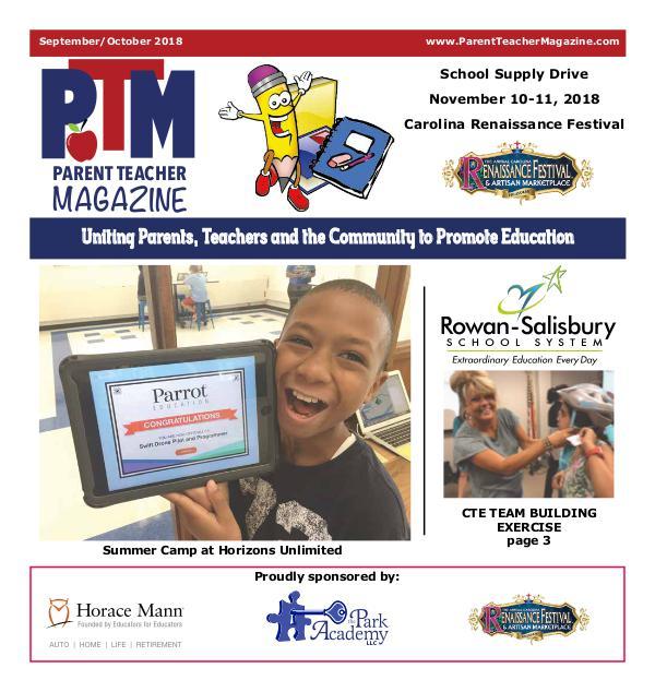Rowan-Salisbury Schools Sept/Oct 2018