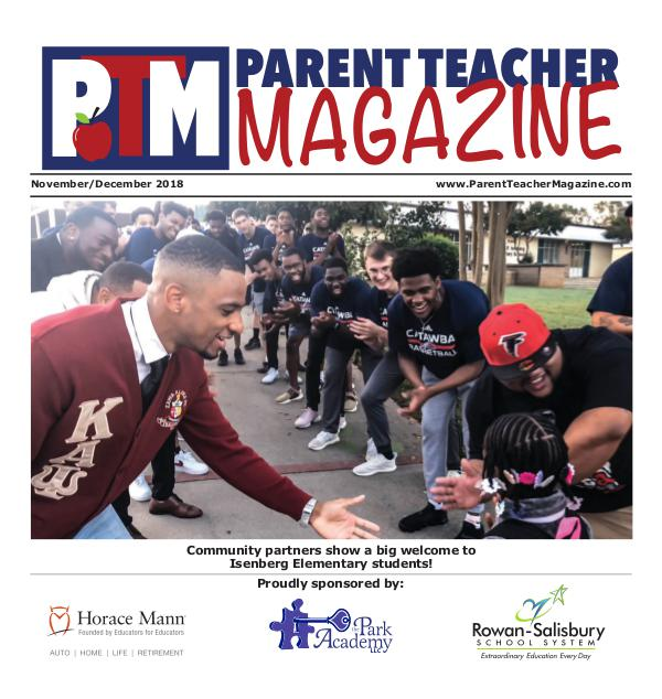 Parent Teacher Magazine Rowan-Salisbury Schools Nov/Dec 2018