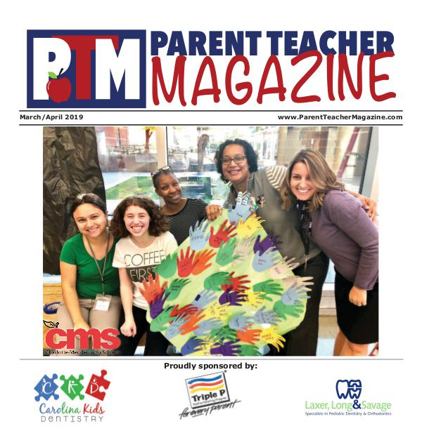 Parent Teacher Magazine Charlotte-Mecklenburg School March/April 2019