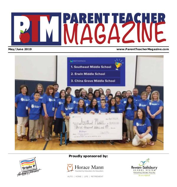 Parent Teacher Magazine Rowan-Salisbury Schools May/June 2019