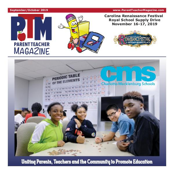 Parent Teacher Magazine Charlotte-Mecklenburg Schools Back to School Issue