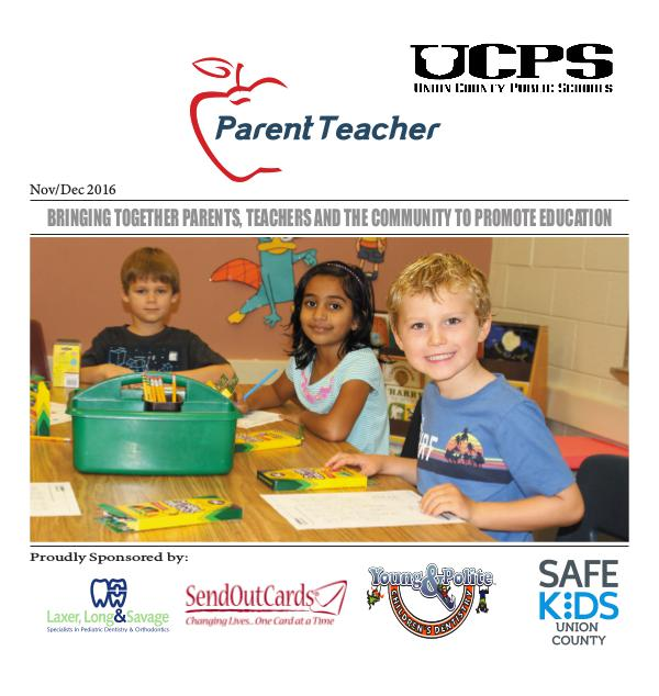 Parent Teacher Magazine Union County Public Schools Nov/Dec 2016