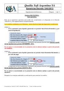 Instructivo de Aplicacion del Decreto 1242/2013