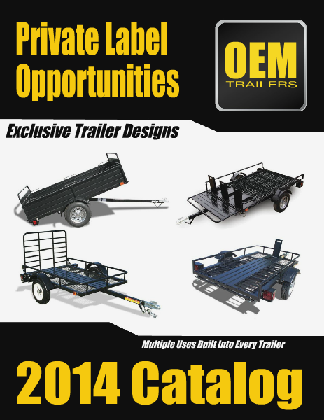 OEM Trailers Interactive Catalog 2014