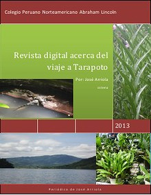 Guía Turística de Tarapoto/ Turistic Guide of Tarapoto