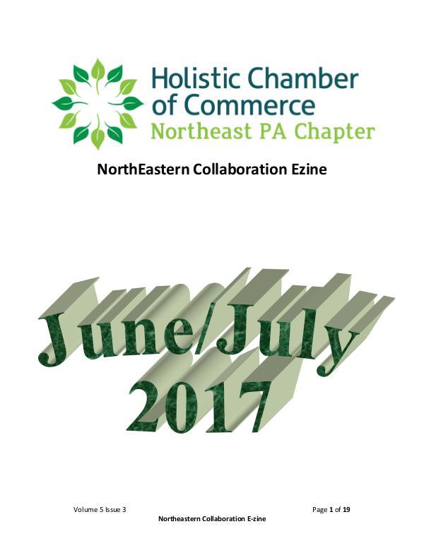 2017 NorthEast Collaboration Issue 5, Volume 3