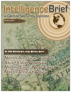 Intelligence Brief 1 October issue
