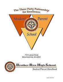 Student-Parent Handbook