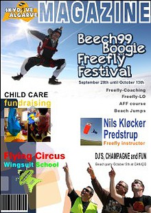 SkyDive Algarve Beech99 Boogie and Freefly Festival