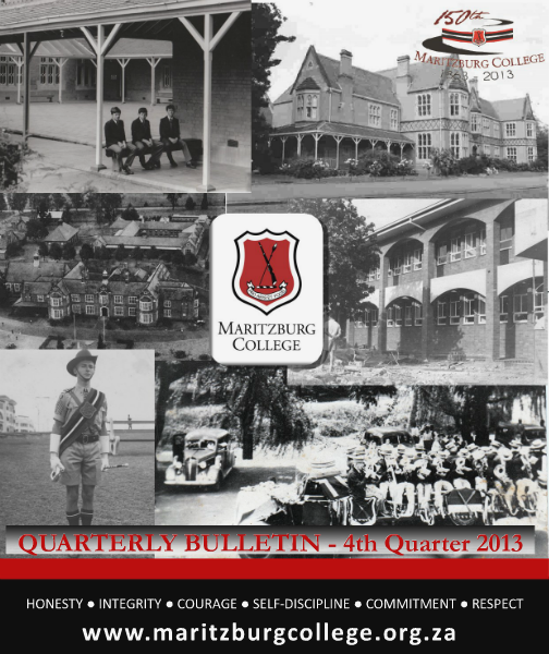MARITZBURG COLLEGE BULLETIN - 4th Quarter 2013