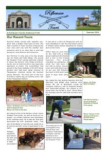 Rifleman Tours Newsletters