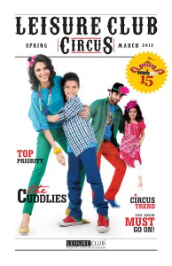 LEISURE CLUB LOOKBOOK SPRING 2012