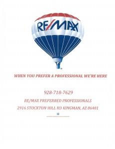 RE/MAX PREFERRED PROFESSIONALS (Sept. 2013)