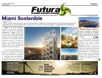 Futura -  Tecnología Renovable y Sostenible - Futura Septiembre 2011 Futura -  Tecnología Renovable y Sostenible - Feb