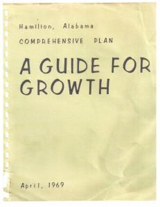 Hamilton, Alabama - A Guide For Growth () Apr. 1969