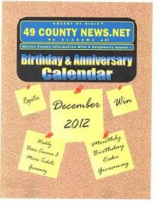 Birthday & Anniversary Calendar