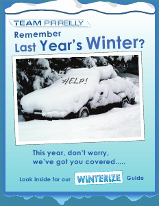 Team MAg Winterize Your Car 2011