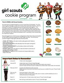 2013 Girl Scout Cookie Program Material