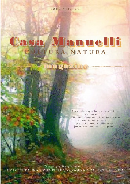 Casa Manuelli Magazine Autunno 2014
