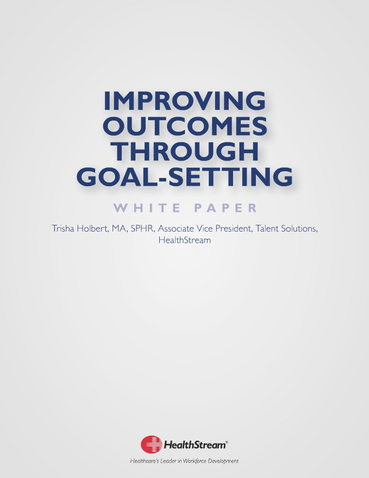 Papers-Thought Leadership Improving Outcomes Through Goal-Setting