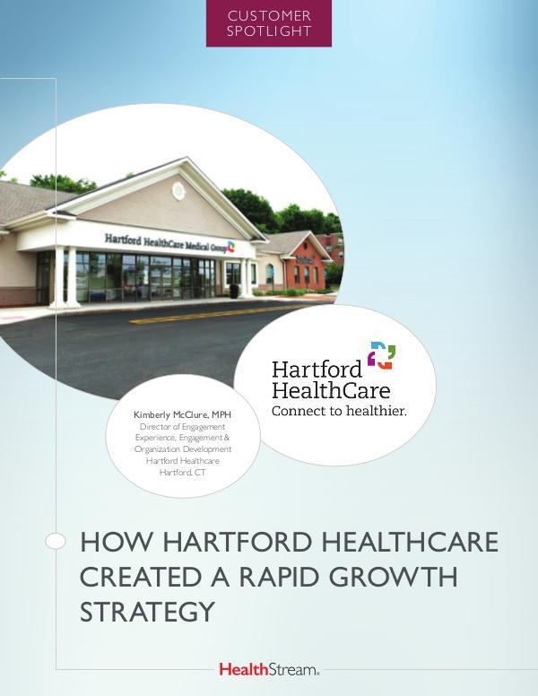Customer Spotlights Hartford HealthCare
